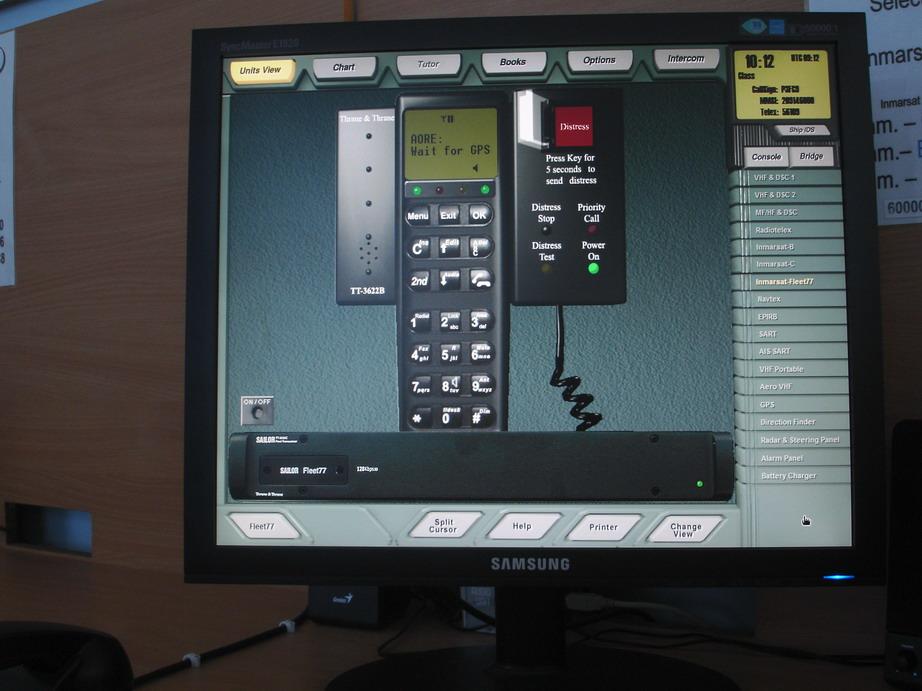 Спутниковый терминал Инмарсат-Fleet77